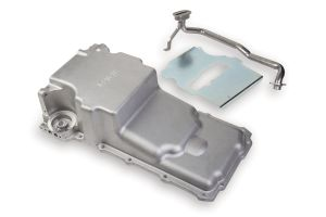 Holley Front Clearance LS Retro-Fit Oil Pan, 302-2