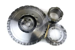 Single roller timing chain set