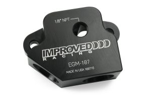 Improved Racing EGM-107 Front Sump Oil Cooler Adapter for LS Engines