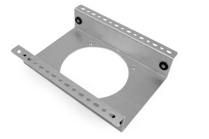 Aluminum fan shroud for Improved Racing MHX-514 oil cooler
