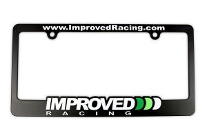 Improved Racing License Plate Frame